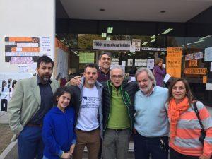Apoyo de la Asamblea de Derechos Humanos Córdoba a Carlos «Pecas» Soriano