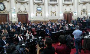 Quinteros objetó artículos de la ley de servicios esenciales que modifican el Código de Convivencia