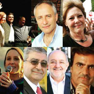 Tras la confirmación de las listas, los candidatos de cuatro alianzas dieron muestras de unidad para encarar la campaña