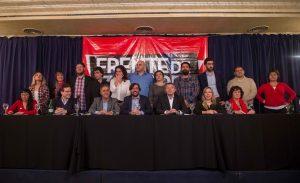 El Frente de Izquierda presentó candidatos en 21 distritos de todo el país