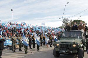 Villa María fue sede de los festejos provinciales por el Día de la Bandera
