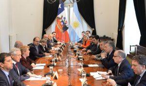 Macri y Bachelet ratificaron el compromiso de seguir trabajando juntos para fortalecer la integración