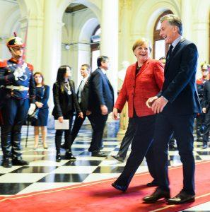 """Angela Merkel: """"Argentina es un país más fiable"""" con Macri"""