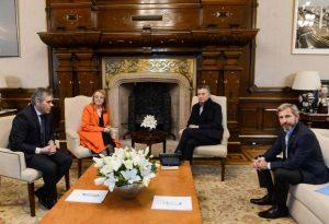 """Macri y Alicia Kirchner acordaron """"el trazo grueso"""" del convenio fiscal, pero faltan detalles"""