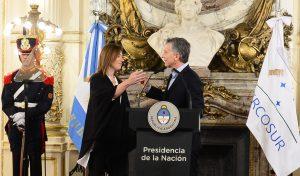 """Macri cargó contra la """"mayor mafia, que es donde el Estado es cómplice"""", y aseveró que """"eso se terminó"""""""