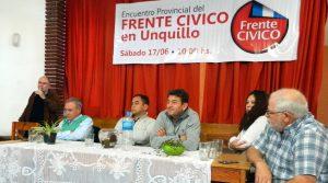 Plenario: El Frente Cívico expectante por la definición de la lista para las Legislativas y apuesta a Juez 2019