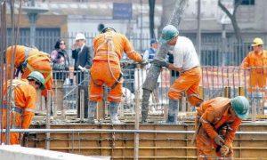 Según el Gobierno, la construcción alcanzó los 400 mil trabajadores activos y generó 30 mil nuevos empleos