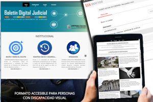 El Boletín Judicial ya cuenta con su nueva versión digital