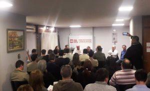 El Foro de Intendentes Radicales expresó su respaldo a Mestre por el conflicto del transporte