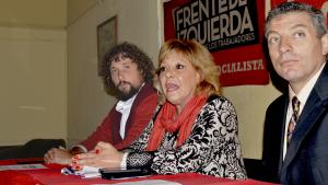 En la presentación de precandidatos, Olivero y Giordano pidieron que nadie «se adueñe» del FIT
