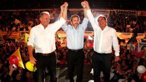 """Frigerio llamó a """"consolidar el cambio"""" en los comicios del domingo en cuatro provincias"""