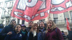 """La Izquierda rechazó la """"militarización"""" contra la huelga de los choferes en la Casa de Córdoba en CABA"""