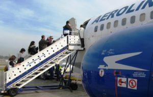 Crece en forma sostenida la cantidad de pasajeros que emplean vuelos de cabotaje