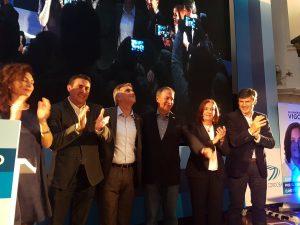 En el inicio formal de la campaña, los candidatos de UPC se mostraron junto a Schiaretti