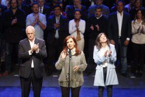 """En """"la madre de todas las batallas"""", CFK, Massa y Randazzo lanzaron sus campañas"""