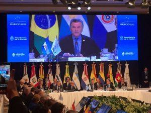 """""""El Mercosur apuesta a la pronta adopción de un calendario electoral"""", afirmó Macri acerca de Venezuela"""