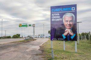 """Al cargar contra Macri y Schiaretti, Baldata afirmó la """"autovía es de los cordobeses"""""""