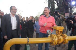 """Schiaretti: """"No pararemos hasta que el gas natural sea una realidad en toda la provincia"""""""