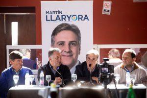 Llaryora apuntó contra la política económica a nivel nacional, por la crítica situación de la producción láctea