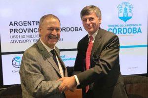 Acuerdo crediticio con IFC por USD 300 millones para obra pública