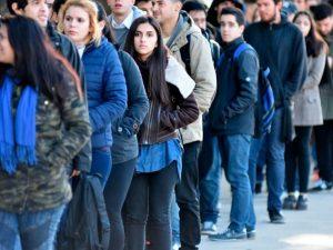 El desempleo rompió los dos dígitos en Buenos Aires