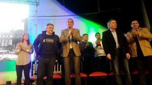 Legislativas: Llaryora se puso la camiseta y Siciliano expresó su apoyo