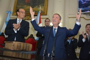 """""""Las criticas no son de la gente, son de dirigentes opositores"""", refutó González a los radicales"""
