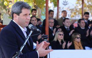 Sobre el rol de CFK, Uñac expresó: «los argentinos y los peronistas estamos construyendo hacia delante»