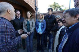 Vidal: «Este domingo vamos a ver qué país queremos. Nadie viene acá para la foto»