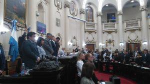 La Unicameral expresó su pesar por la muerte del ex gobernador Angeloz