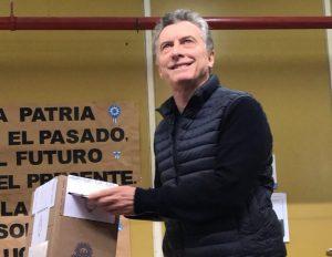 Polémica:  Macri violó la veda electoral al pedir que se vote a «favor del cambio»