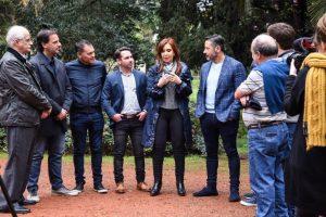 CFK se reunió con los jefes territoriales de la primera sección electoral para delinear la campaña que se viene