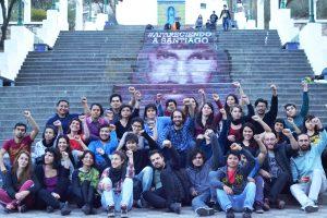 Intervención del PTS en el Parque Sarmiento por la aparición con vida de Santiago Maldonado