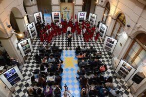 Música New Docta se presentó en el Palacio Legislativo