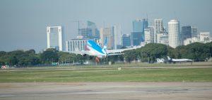 La llegada de turistas extranjeros por vía aérea creció 7,6%
