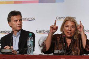 """""""Necesitamos más bancas porque el massismo extorsiona demasiado"""", dijo Carrió"""