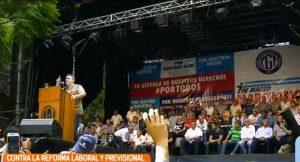 Protesta CGT:  Se anunció un plenario el 25 de septiembre para definir la fecha de un paro general