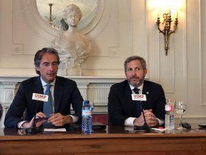 Frigerio rubricó acuerdo en España por cooperación binacional en infraestructura y vivienda