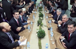 Amplio rechazo de gobernadores a la demanda de Vidal por el Fondo del Conurbano
