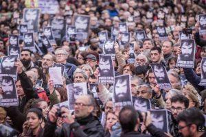 A dos meses de su desaparición y una nueva marcha, Bullrich afirmó que se está buscando a Santiago