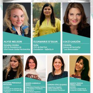 La Presidenta internacional de Voces Vitales abrirá la Jornada Anual en Córdoba