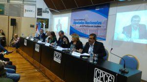 Por el faltazo, los candidatos de otras fuerzas políticas apuntaron sus críticas contra Baldassi