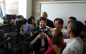 """Siciliano advirtió del """"uso electoral"""" de la obra de cloacas en Villa Libertador por parte de Cambiemos"""