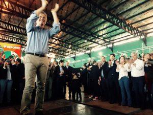 """Desde territorio de los hermanos Rodríguez Saá, Macri pidió apoyo para """"acelerar el cambio"""""""
