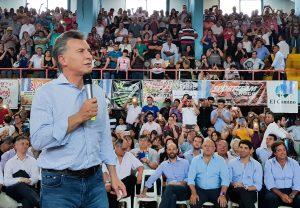 """Macri dijo que la recuperación económica multiplicará las inversiones en el """"interior profundo"""""""