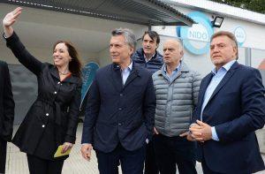 Macri y Vidal siguen inaugurando obras en territorio bonaerense