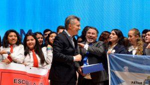"""Macri destacó el rol de la educación pública  como """"verdadera igualadora de oportunidades"""""""