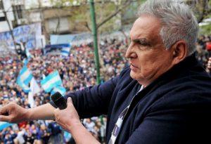 """Negri condenó las amenazas del """"Pata"""" Medina"""