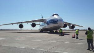 El Antonov 124 a su paso por Córdoba