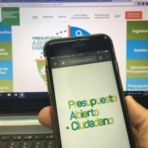 Municipio puso en funcionamiento el portal de Presupuesto Abierto Ciudadano